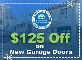 125 Dollar Off On New Garage Doors Coupon - Salt Lake Garage Doors